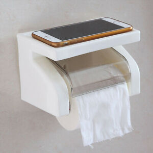 Plastic Suction Cup Paper Towel Holder For Toilet Waterproof Sanitary Carton