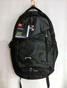 Under Armour Hustle 4.0 Black Camo Unisex Laptop Backpack $39.99