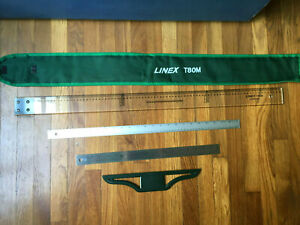 T Square RULERS Linex T 80M Denmark NEW NEVER USED $24.00