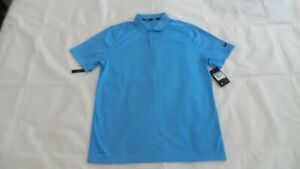 NIKE DRI FIT VICTORY POLO GOLF SHIRT SIZE M MEDIUM BLUE $24.99