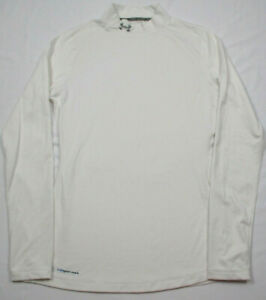 Under Armour Cold Gear Women's Mock Long Sleeve Fitted Running Shirt M $18.69