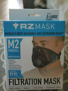 RZ Mesh Mask M2 Multi-Purpose Air Filtration + 2 filters X-Large