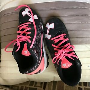 Child's Athletic Shoes, Cleats for soccer or track, SZ. 2.5 Y in U.S. $8.91