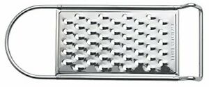 Flat Zest Grater Stainless Steel Large Holes