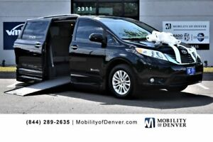 2015 Toyota Sienna XLE BraunAbility Rampvan Power Side Entry 2015 Toyota Sienna XLE BraunAbility Rampvan Power Side Entry 78099 Miles BLACK P