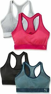 SALE 2 PACK Puma Women's Active Support Performance Sports Bra FREE FAST SHIP