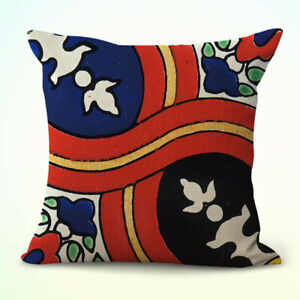 Mexican talavera Spainish cushion cover throw pillow covers 18x18 $14.99