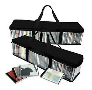 Imperius Portable CD Sturdy Storage Collection Bag/Moistureproof with Zipper and