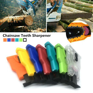 Woodworking Chainsaw Teeth Chain Saw Sharpener Sharpening 1pcs Stone Grinding FA