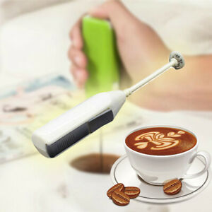 Maker Stirrer Coffee Mixer Milk Frother Electric Handle Foamer Whisk Egg Beater