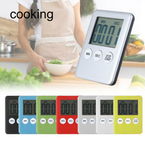 Countdown Kitchen Tool Reminder Stopwatch Timer Count-Down Up Magnet Clock