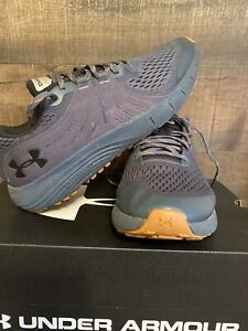 Under Armour Men's UA Charged Bandit Trail Sz 10 Running Shoes Navy Blue gum $50.00
