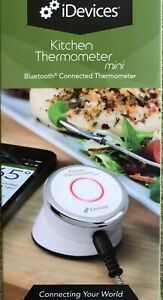 BLUETOOTH WIRELESS MEAT AND GRILL THERMOMETER battery included