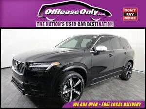 2018 Volvo XC90 T5 R-Design FWD Off Lease Only 2018 Volvo XC90 T5 R-Design FWD Intercooled Turbo Regular Unleade