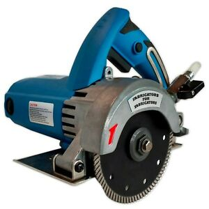 FAB-125 A. Heavy-Duty 2.2HP Stone Cutter 5-inch Contour or Flat Blade Wet/Dry