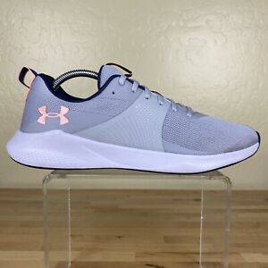 Under Armour Charged Aurora Training Running Shoes Womens 11 Gray Pink $39.99