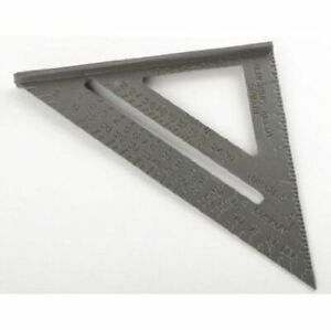 Aluminum Carpenter Angle Rafter Protractor Try Tri Marking Measuring Square Tool $14.99