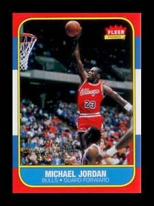 MICHAEL JORDAN 1996 97 Fleer DECADE OF EXCELLENCE Rookie Card NM MT