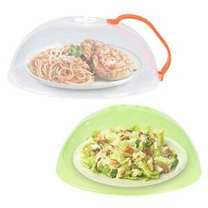 2 Pack Microwave Plate Cover With Handle,Microwave cover for food BPA Free