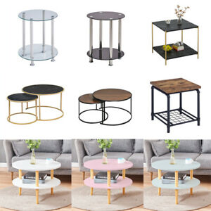 Coffee Table Sofa Bed Side Accent End Tables Simple Living Room Bedroom Desk New