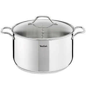 Tefal Intuition Stainless Steel Induction Stewpot 5.1 Quart Dishwasher Safe