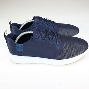 Under Armour Charged 24 7 Lows Men Athletic Shoes Navy Blue 1288347 410 Size 11 $74.98