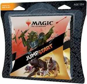 MTG Magic the Gathering Jumpstart Multipack 4 20 Card Booster Packs