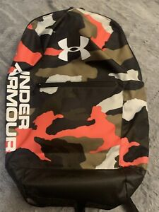Under Armour Camo Backpack Gym School Bag Sports Patterson Rucksack Sackpack NE $30.00