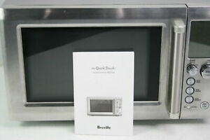 SEE NOTES Breville BMO734XL Quick Touch Microwave Oven w Sensor IQ Stainless