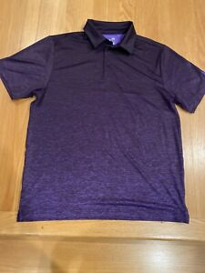 UNDER ARMOUR Golf Short Sleeve Polo Shirt Large $12.00