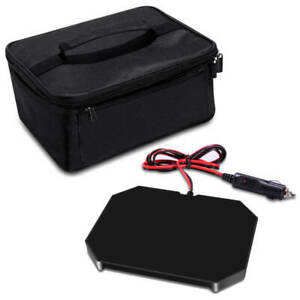 Portable Electric12V Car Truck Food Warmer Set Hot Plate Mini Microwave Heaters