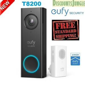 eufy T8200 Security Wi Fi Video Doorbell 2K Resolution Real Time No Monthly Fees