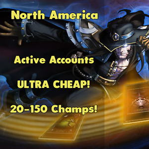 League of Legends LOL NA Account Smurf Random Skins Champs RP BE Unranked Level $1.49