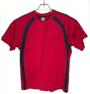 Nike XL Mens Shirt Red Black Short Sleeve $19.99