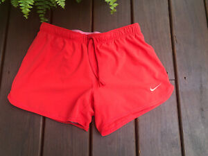 Nike Running Shorts With built in Spandex Coral Gray Women's Small $14.99
