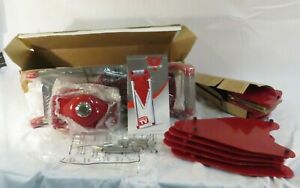PRO V Stainless Mandolin Food Slicer NEW in box- red - as seen on TV