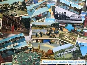 Antique and vintage postcards random lot of 25 from the United States1920 $19.99