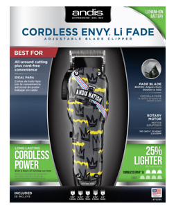 Andis 73095 Cordless Envy Li Fade Adjustable Blade Hair Clipper Andis Nation NEW $98.95