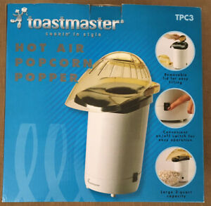 Vintage Toastmaster TPC3 hot air popcorn popper or coffee roaster New In Box