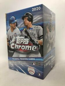 Topps 2020 Chrome Baseball Blaster Box