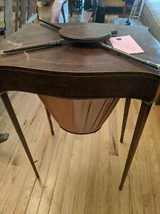 Antique sewing table $175.00