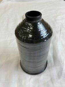 Polyester Thread Black 66043 16 Ounce Cone Made in USA by Aamp;E MilSpec TEX 90 $15.00