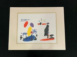 Picasso Toros II Picador Signed Lithograph 267500 New Unwrapped A6863 $89.95