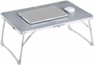 Foldable Laptop Table, Superjare Bed Desk, Breakfast Serving Bed Tray