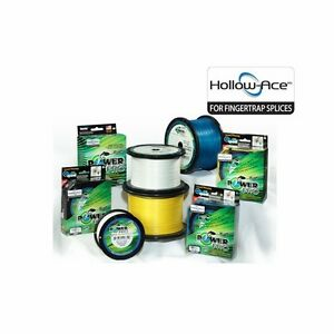 PowerPro Hollow Ace Spectra Fishing Braided Line 1500 Yards Pick Test Color