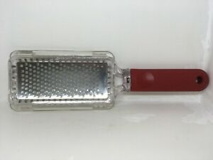 Microplane Home 2.0 Series Stainless Steel Fine Grater - Red