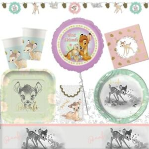 Disney Bambi Thumper Party Supplies Tableware Balloons amp; Decorations GBP 8.99