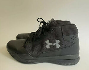 Under Armour Jet 2016 Men's Black Basketball Shoes 1300016 001 Size 8.5 $25.00