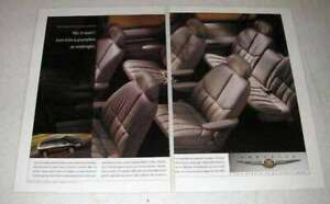 1998 Chrysler Town Country Limited Minivan Ad $16.99