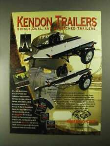 2001 Biker#x27;s Choice Kendon Motorcycle Trailers Ad